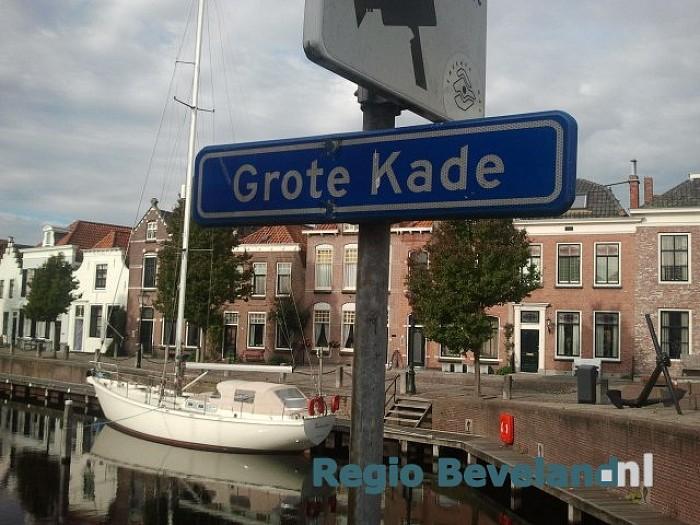Baldadige mannen aangehouden op Grote Kade Goes - Foto: Richard de Looff