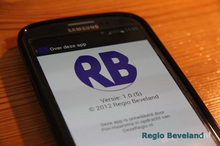 Android app van Regio Beveland vanaf nu te downloaden - Foto: Pim Haarsma