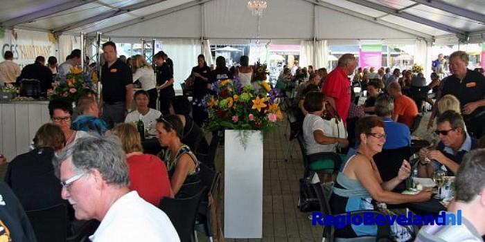 Restaurant op de Grote Markt tijdens CuliFair en CuliFiësta - Foto: Goes Marketing