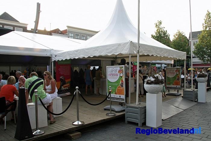 Restaurant op de Grote Markt tijdens CuliFair en CuliFiësta - Foto: Gemeente Goes