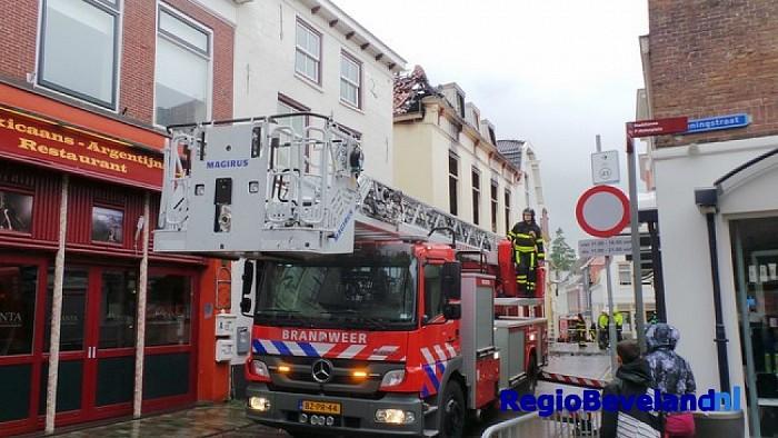 Zeer grote brand in de Magdalenastraat te Goes [update] - Foto: Ricardo Kievit