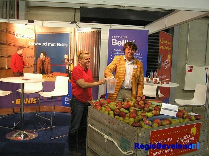 Zeeuwse Fruitteeltdag in de Zeelandhallen te Goes - Foto: Eigen foto