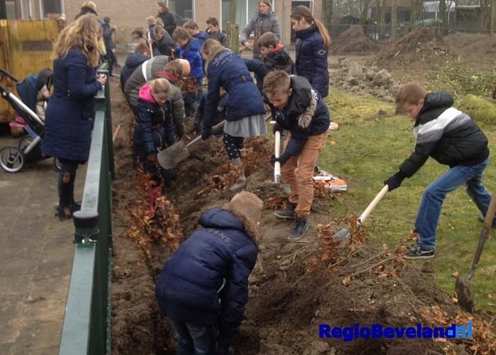 Nationale Boomfeestdag in de gemeente Borsele - Foto: Gemeente Borsele