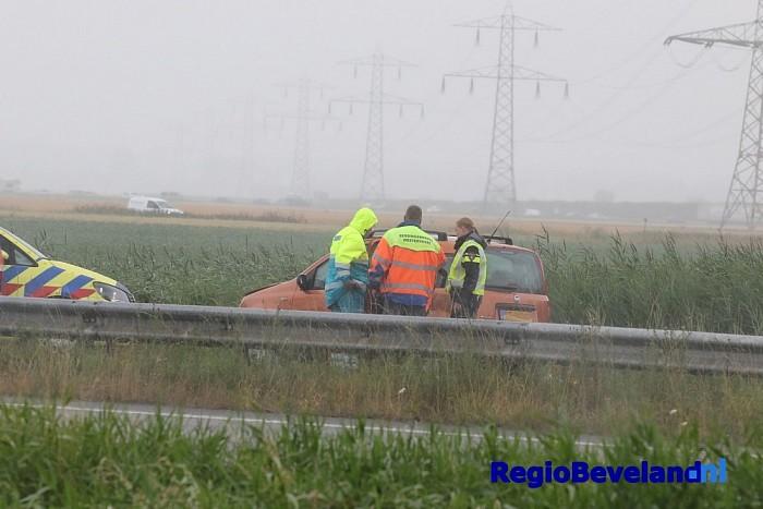 Verkeersongeval met letsel op de Deltaweg te Goes - Foto: Marcel Kloet