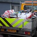 Opruimen van gevaarlijke afvalresten vuurwerk jaarwisseling