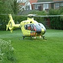 Fietser (84) gewond na aanrijding op de Postweg te Kapelle