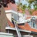 Persoon gered bij brand in woning aan de Lijnbaan te Goes