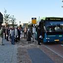 Bus rijdt na veel geklaag weer door centrum van Wissenkerke