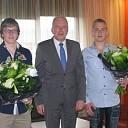 Burgemeester feliciteert twee Reimerswaalse kampioenen