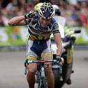 Johnny Hoogerland winnaar van NK wielrennen op de weg