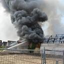 GRIP1 bij uitslaande brand in winkelpand te Heinkenszand