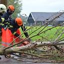 Wateroverlast en stormschade in Bevelandse gemeenten
