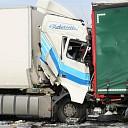 Aanrijding tussen twee vrachtwagens op A58 te Kruiningen