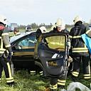 Eenzijdig ongeval met letsel op de A58 ter hoogte van Goes