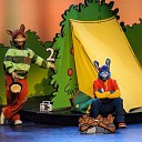 Bobo en Tjerk gaan kamperen in Theater de Mythe te Goes