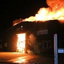 Zeer grote uitslaande brand in sociale werkplaats te Goes