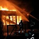 Grote brand in vrijstaand bijgebouw van school te Kapelle