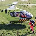 Inzet traumaheli bij ongeval in jachthaven Wolphaartsdijk