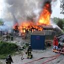 Leegstand pand afgebrand aan het Geldeloozepad te Goes