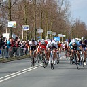Nationale wielertalenten zaterdag 19 april in de ZLM Tour