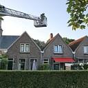Schoorsteenbrand in woning aan Dorpsstraat te Kattendijke