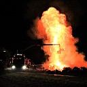 Brandweer rukt uit voor buitenbrand strobalen te Kloetinge