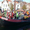 Intocht van Sinterklaas op 22 november in stadshaven Goes