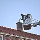 Schoorsteenbrand Prins Bernhardstraat te Wolphaartsdijk