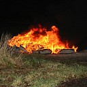 Stapel autobanden in brand aan Klaphekkeweg Goes
