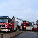 Schoorsteenbrand in woning aan Noordstraat Kapelle