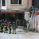 Kleine binnenbrand in woning aan de Oostwal te Goes