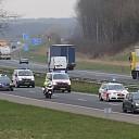 Langzaamaanactie van de politievakbond op de A58