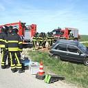 Verkeersongeval met letsel op Westerlandpolderweg