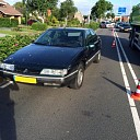 Gevaarlijke automobilist (61) geramd door politie Goes