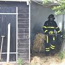 Middelbrand in stal aan Langeweg te Wilhelminadorp