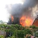 Middelbrand in bungalow aan de Spuiweg te Kortgene