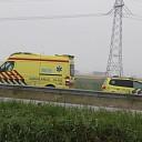 Verkeersongeval met letsel op de Deltaweg te Goes