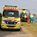 Traumahelikopter bij ernstig incident Wilhelminadorp