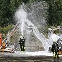 Tractor volledig in brand aan Kanaalweg te Hansweert