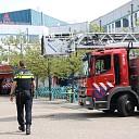 GRIP 1 bij brand in operatiekamer ziekenhuis te Goes